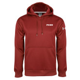 Under Armour Cardinal Performance Sweats Team Hoodie-PENN