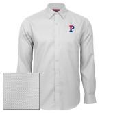 Red House White Diamond Dobby Long Sleeve Shirt-Split P