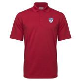 Cardinal Mini Stripe Polo-PENN Shield