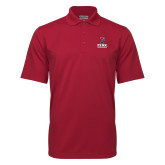 Cardinal Mini Stripe Polo-Cheerleading