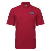 Cardinal Mini Stripe Polo-Penn Band
