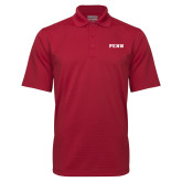 Cardinal Mini Stripe Polo-PENN