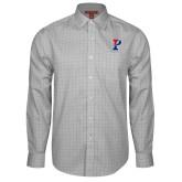 Red House Grey Plaid Long Sleeve Shirt-Split P