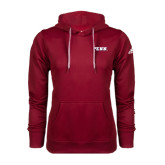 Adidas Climawarm Cardinal Team Issue Hoodie-PENN Wordmark