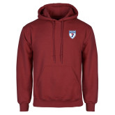 Cardinal Fleece Hoodie-PENN Shield