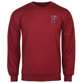 Cardinal Fleece Crew-Split P