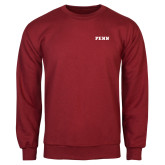 Cardinal Fleece Crew-PENN