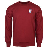 Cardinal Fleece Crew-PENN Shield