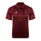 Adidas Climalite Cardinal Jaquard Select Polo-Split P