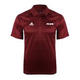 Adidas Climalite Cardinal Jaquard Select Polo-PENN Wordmark