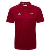 Adidas Climalite Cardinal Jacquard Select Polo-PENN