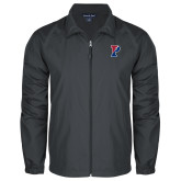 Full Zip Charcoal Wind Jacket-Split P
