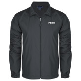 Full Zip Charcoal Wind Jacket-PENN