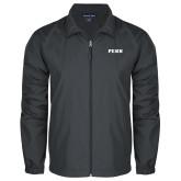 Full Zip Charcoal Wind Jacket-PENN