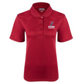 Ladies Cardinal Dry Mesh Polo-Cheerleading