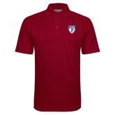 Cardinal Textured Saddle Shoulder Polo-PENN Shield