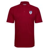 Cardinal Textured Saddle Shoulder Polo-PENN Shield