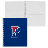 College Spiral Notebook w/Clear Coil-Split P