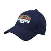 Navy Heavyweight Twill Pro Style Hat-The Palestra