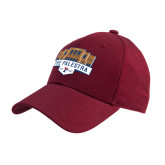 Cardinal Heavyweight Twill Pro Style Hat-The Palestra