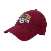 Cardinal Twill Unstructured Low Profile Hat-The Palestra