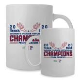 Full Color White Mug 15oz-2020 Womens Track & Field Champs
