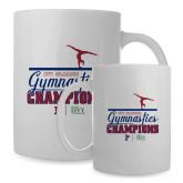 Full Color White Mug 15oz-Gymnastic Champs