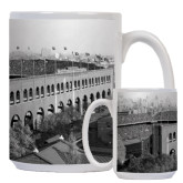 Full Color White Mug 15oz-Franklin Field 1940