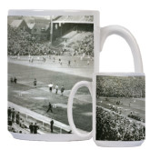 Full Color White Mug 15oz-Franklin Field Stands