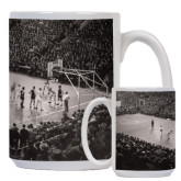 Full Color White Mug 15oz-Palestra Opening Night