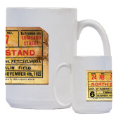 Full Color White Mug 15oz-1922 Penn Stub
