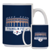 Full Color White Mug 15oz-Franklin Field