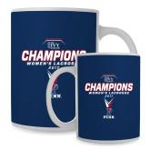 Full Color White Mug 15oz-2017 Ivy League Womens Lacrosse Champions