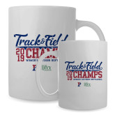 Full Color White Mug 15oz-2019 Track & Field Womens Outdoor Champs