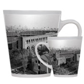 12oz Ceramic Latte Mug-Franklin Field 1940