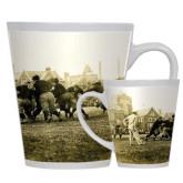 Full Color Latte Mug 12oz-1909 Football v. Lafayette