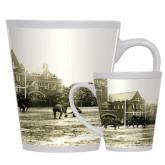 Full Color Latte Mug 12oz-Campaign Football