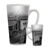 Full Color Latte Mug 17oz-Franklin Field 1940