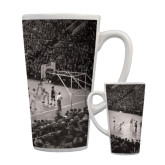 Full Color Latte Mug 17oz-Palestra Opening Night