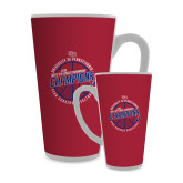 Full Color Latte Mug 17oz-2018 Ivy League Mens Basketball