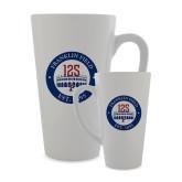 Full Color Latte Mug 17oz-Franklin Field 125 Logo