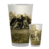Full Color Glass 17oz-1909 Football v. Lafayette