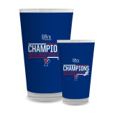 Full Color Glass 17oz-2017 Mens Cross Country Ivy League Champions
