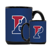 Full Color Black Mug 15oz-Split P