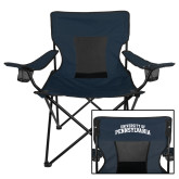 Deluxe Navy Captains Chair-University of Pennsylvania Arched