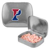 Silver Rectangular Peppermint Tin-Split P