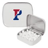 White Rectangular Peppermint Tin-Split P
