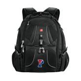 Wenger Swiss Army Mega Black Compu Backpack-Split P