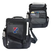 Momentum Black Computer Messenger Bag-Split P