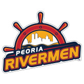 Extra Large Decal-Peoria Rivermen Secondary Mark, 18in Wide